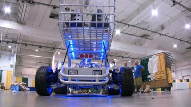 В США  тележку для супермаркета оснастили 290-сильным двигателем. Изображение № 9.