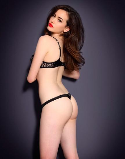 Австралийская модель Сара Стивенс снялась в рекламе Agent Provocateur . Изображение № 11.