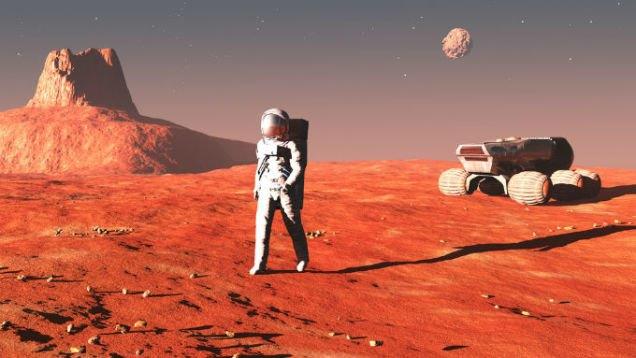 В сети появился блог «первого человека на Марсе». Изображение № 1.