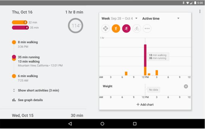 Google выпустил собственное фитнес-приложение. Изображение № 4.