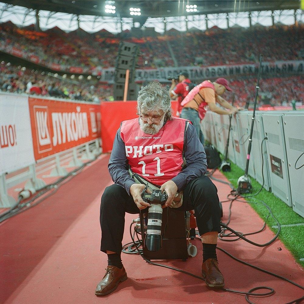 Фоторепортаж: Матч открытия нового стадиона «Спартака». Изображение № 19.