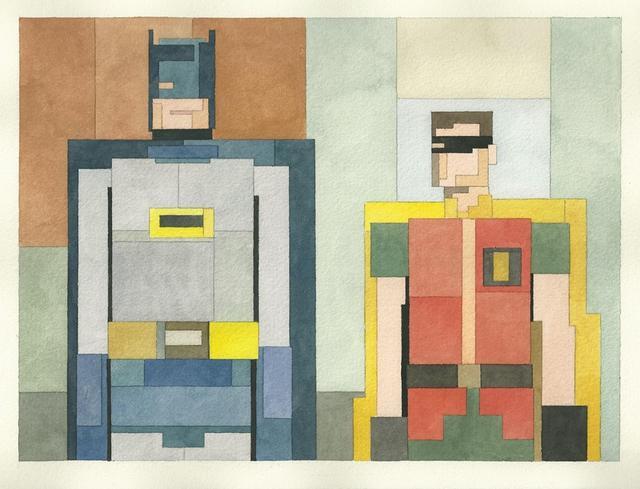 Адам Листер: Иконы поп-культуры в 8-битной живописи. Изображение № 10.