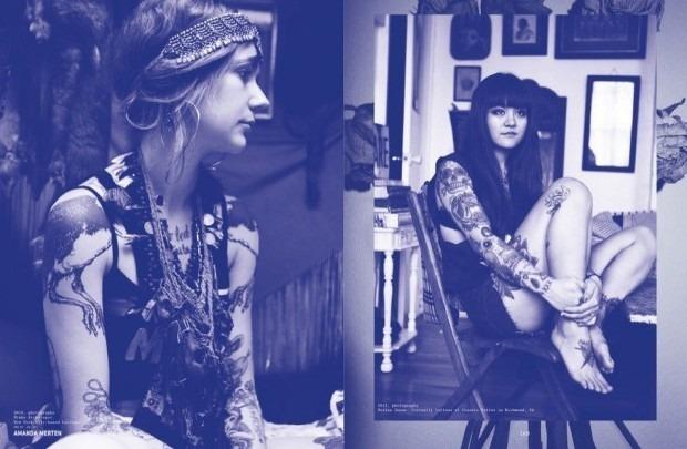 Выходит новая книга о культуре татуировок «Forever: The New Tattoo». Изображение № 11.