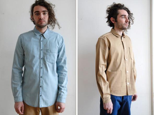 The Local Firm, рубашка Brig | Frost Birgens, pубашка Sam  . Изображение № 13.
