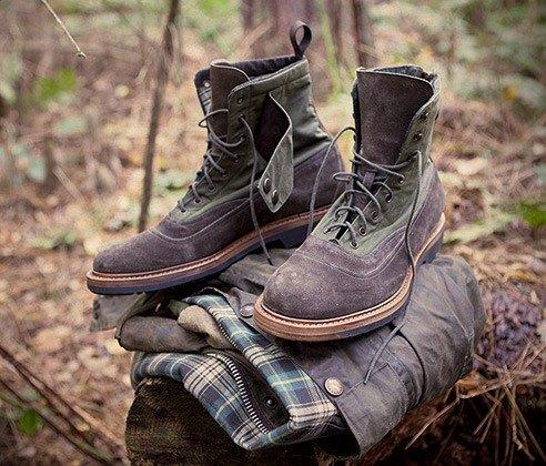 Марки Barbour и Forest of Gingko выпустили совместную модель обуви. Изображение № 3.