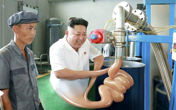 Поход Ким Чен Ына на завод смазок стал новым интернет-мемом . Изображение № 9.