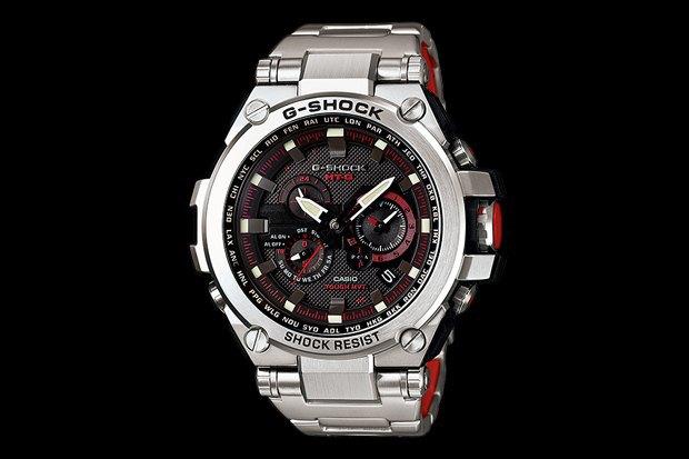 Марка Casio представила металлические часы G-Shock . Изображение № 1.