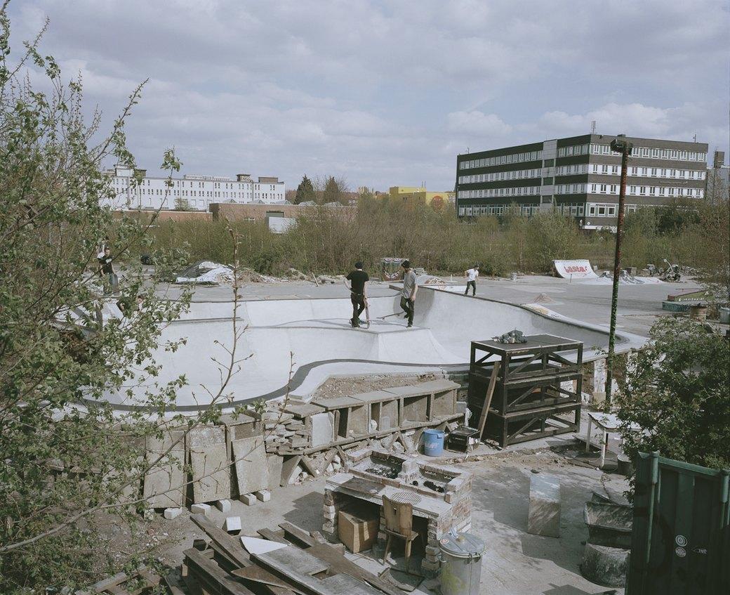 Фотопроект: Увядающая культура самодельных скейт-парков. Изображение № 5.