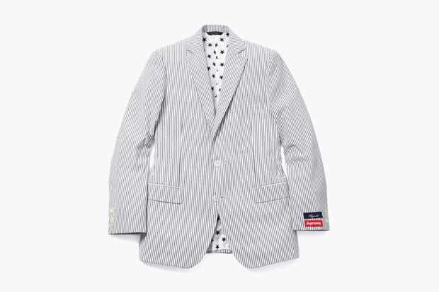 Марки Supreme и Brooks Brothers представили новую коллекцию одежды. Изображение № 2.