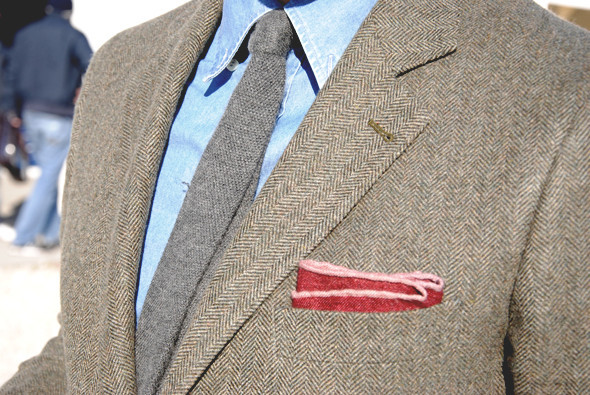 Детали: Репортаж с выставки мужской одежды Pitti Uomo. День первый. Изображение № 48.