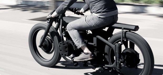 Мотомастерская Bandit9  собрала новый кастомный мотоцикл Nero MKII. Изображение № 2.