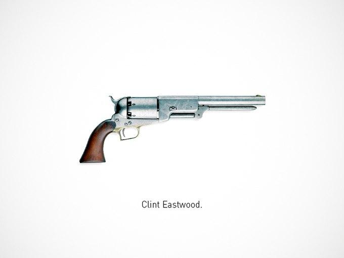 Итальянский дизайнер представил коллекцию плакатов знаменитого оружия. Изображение № 19.