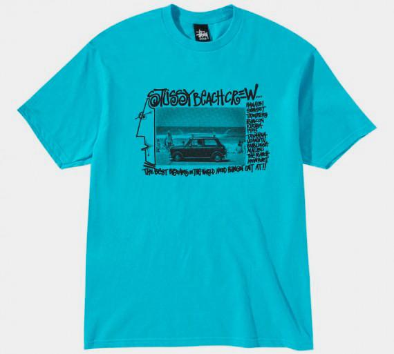 Марка Stussy выпустила весеннюю линейку футболок . Изображение № 3.
