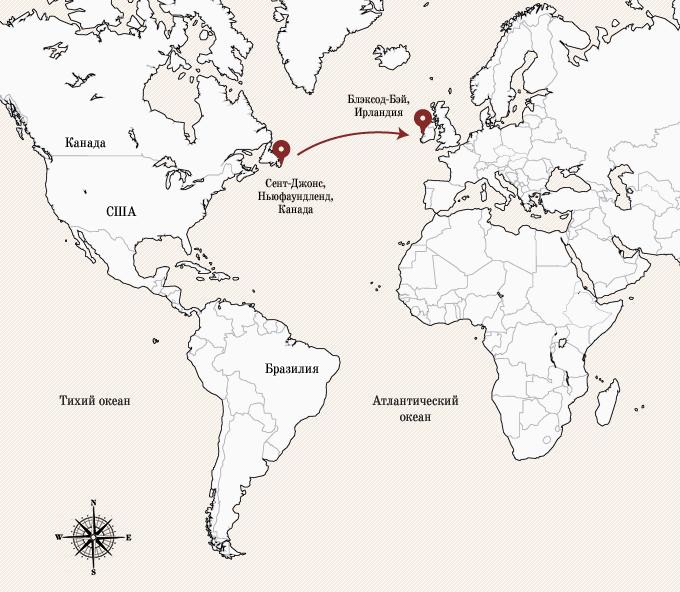 Одинокое плавание: 8 путешественников, пересекших Атлантику на весельной лодке. Изображение № 4.