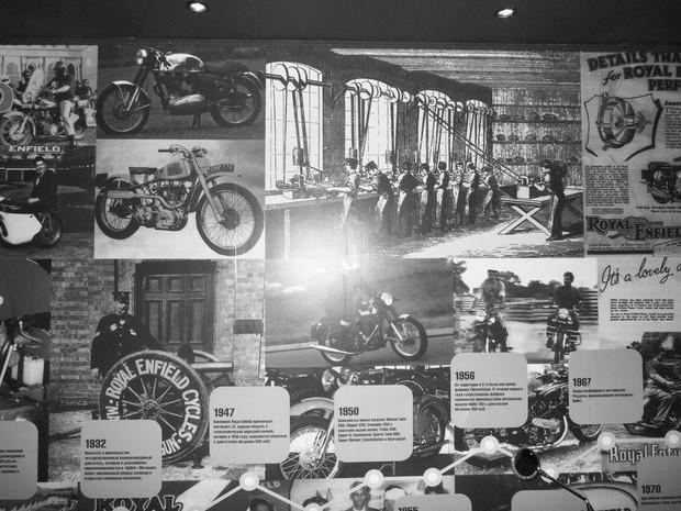В Москве официально открылся салон мотоциклов Royal Enfield. Изображение № 1.