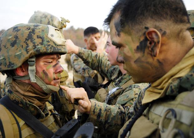 Американцы разработали камуфляжную краску, защищающую солдат от огня. Изображение № 1.