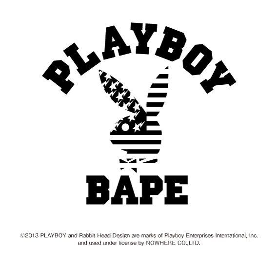 A Bathing Ape и Playboy готовят совместную коллекцию одежды. Изображение № 2.