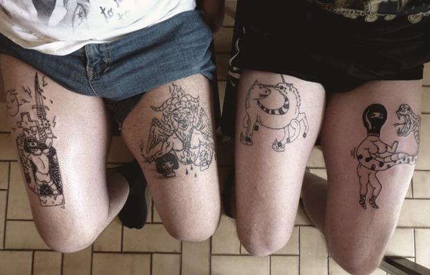 Домашняя работа: Гид по культуре татуировок в домашних условиях. Изображение №21.