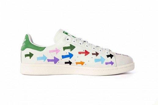 Adidas выпустит коллекцию кроссовок Stan Smith, вручную разрисованных Фарреллом. Изображение № 12.