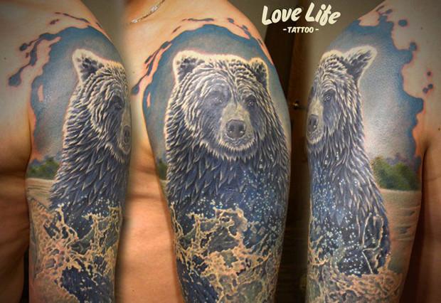Избранные работы студии Love Life Tattoo. Изображение № 26.