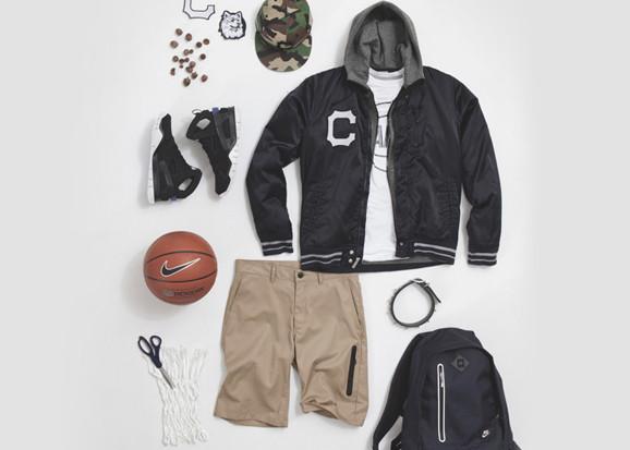 Марка Nike Sportswear выпустила весеннюю коллекцию баскетбольной одежды. Изображение № 5.