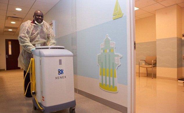 В США будут использовать роботов для борьбы с вирусом Эбола. Изображение № 1.