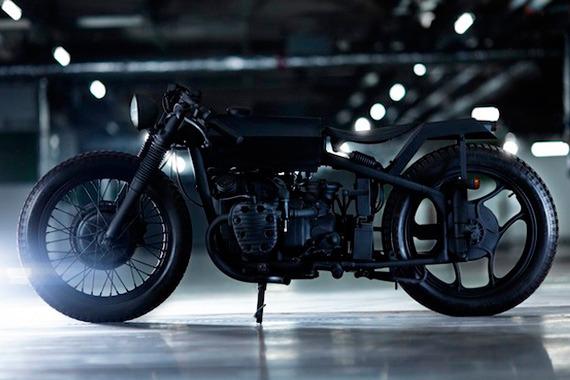 Китайская мастерская Bandit9 выпустила кастомизированный мотоцикл Nero. Изображение № 2.
