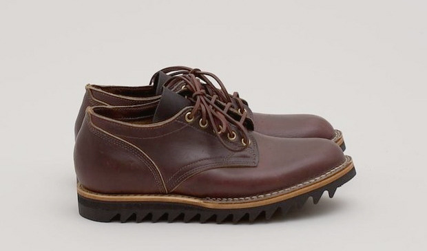 Ботинки кандаской марки Viberg, разработнанные для магазина Superdenim. Изображение № 2.