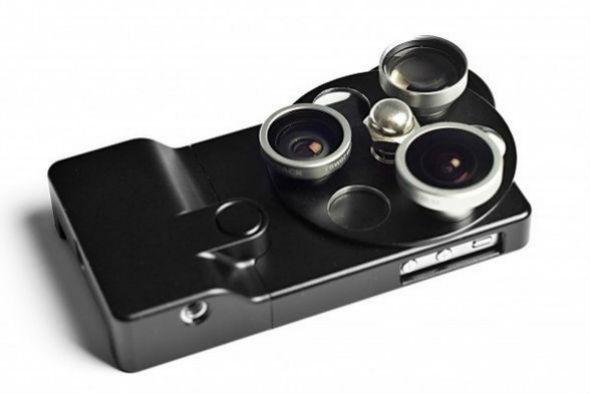 Корпус для iPhone с тремя фотообъективами. Изображение № 10.