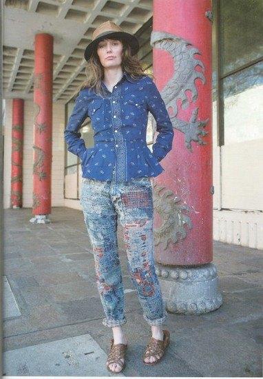 Японская марка Kapital выпустила лукбук летней коллекции одежды. Изображение № 19.
