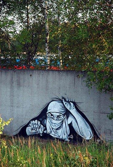 Умер уличный художник Паша 183. Изображение № 15.