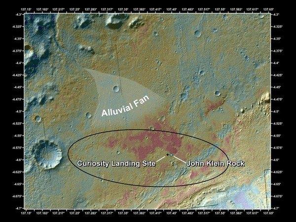Марсоход Curiosity установил, что на Красной планете в прошлом были условия для жизни. Изображение № 2.