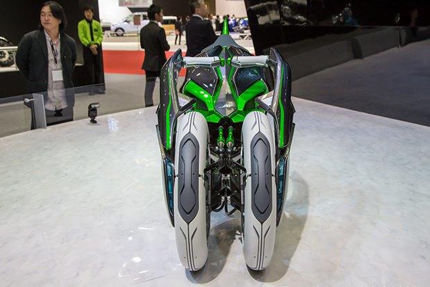 Kawasaki представили новый мотоцикл-трансформер. Изображение № 2.
