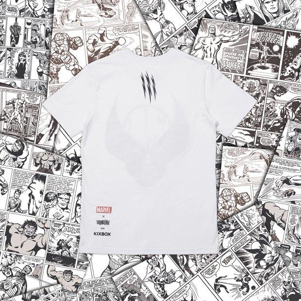 Магазин Kixbox, Marvel и российские художники выпустили совместную коллекцию футболок . Изображение № 7.