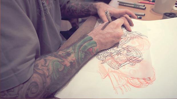 Хруст костей: Интервью с татуировщиком Дмитрием Речным. Изображение № 25.