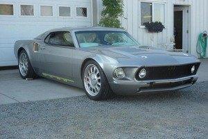 Ford возродит свою классическую модель Mustang Mach 1. Изображение № 3.