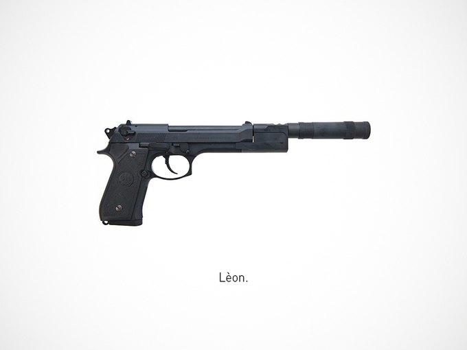 Итальянский дизайнер представил коллекцию плакатов знаменитого оружия. Изображение № 7.