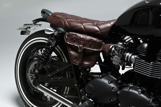 Мастерская Ellaspede представила новый кастом на базе мотоцикла Triumph Bonneville. Изображение № 10.