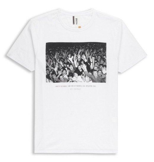 Марка Ben Sherman и музыкальный фотограф Джанет Бекман выпустили совместную коллекцию футболок. Изображение № 5.