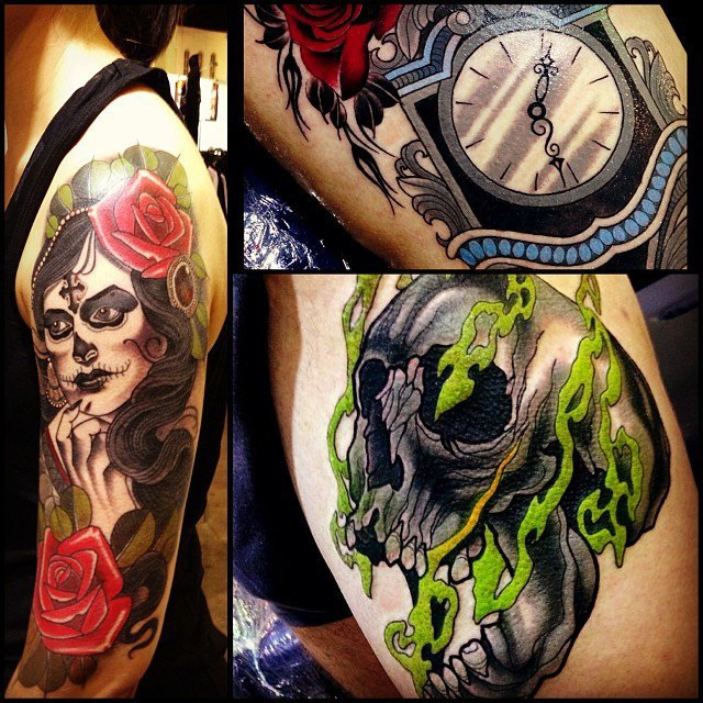 Австралийская выставка Tattoo and Body Art Expo в Instagram-фотографиях её участников. Изображение № 7.
