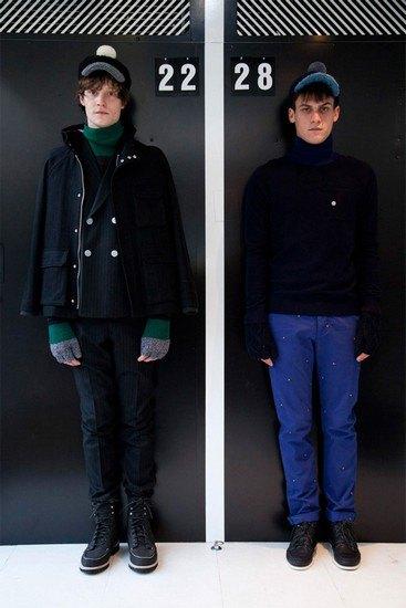 Марка Band Of Outsiders опубликовала лукбук осенней коллекции одежды. Изображение № 4.
