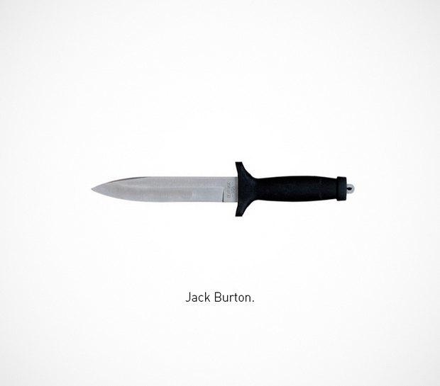 Итальянский дизайнер представил коллекцию ножей знаменитых персонажей. Изображение № 13.
