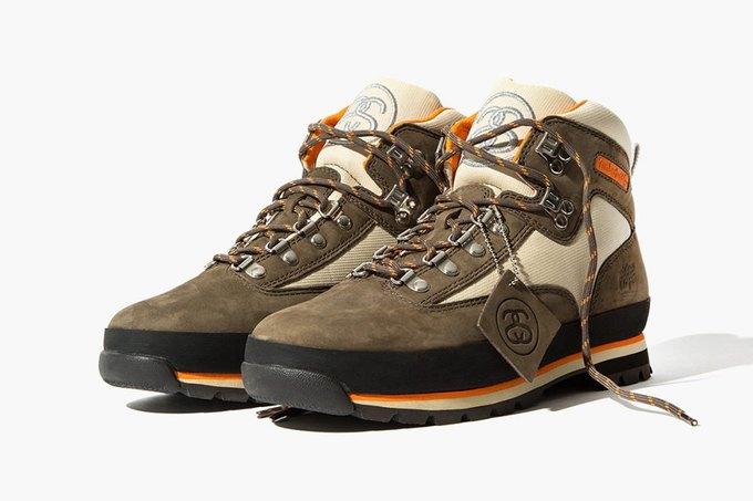 Марки Timberland и Stussy представили совместную коллекцию обуви. Изображение № 1.