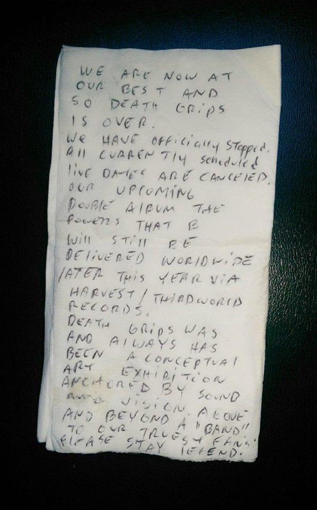 Death Grips объявили о распаде группы. Изображение № 1.