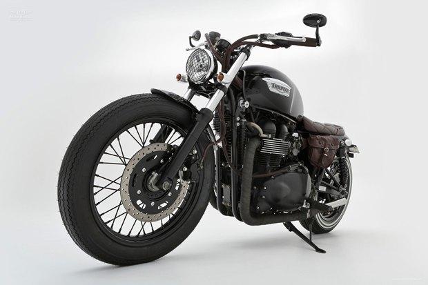 Мастерская Ellaspede представила новый кастом на базе мотоцикла Triumph Bonneville. Изображение № 1.