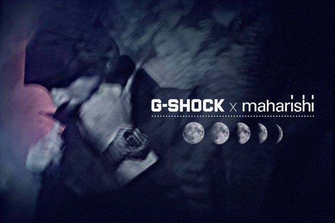 В магазине Brandshop состоится запуск продаж коллаборационной модели часов Casio G-Shock x Maharishi. Изображение № 1.