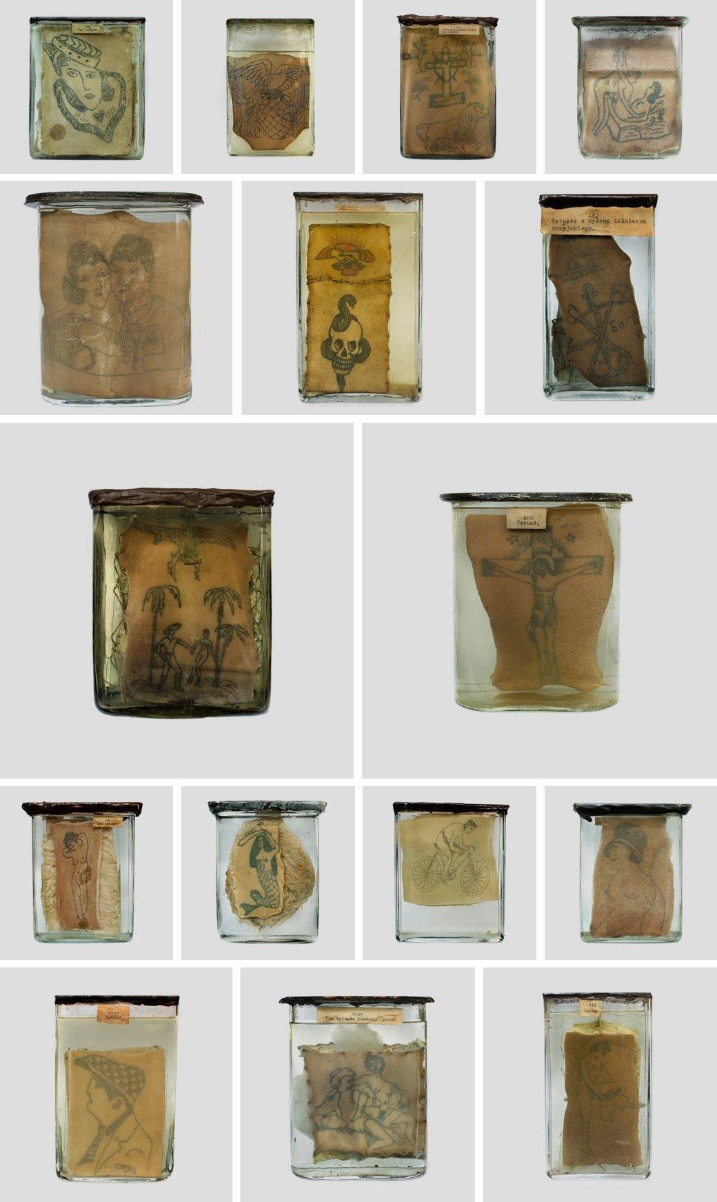 Катаржина Мирчак: Фотографии уникальной коллекции тюремных татуировок. Изображение № 1.