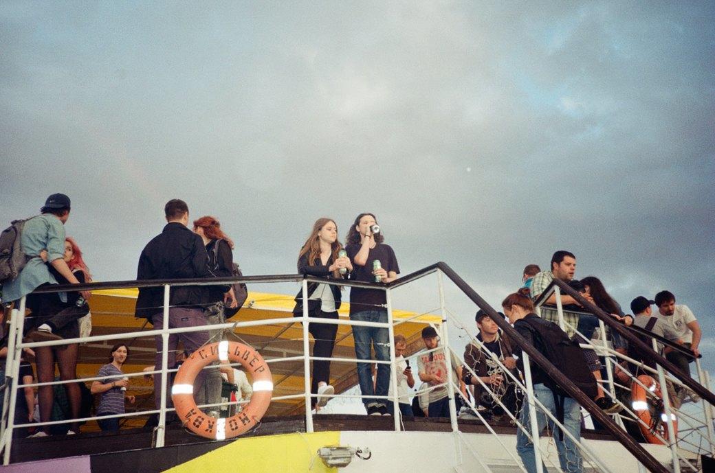 Фотоотчёт: «Панк-корабль» на Москве-реке. Изображение № 6.