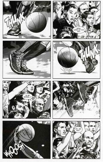 Marvel представили первого в истории супергероя-баскетболиста. Изображение № 9.