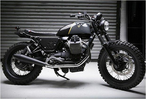 Стефан Вернье построил новый кастом на базе Moto Guzzi V7 Stone . Изображение № 8.